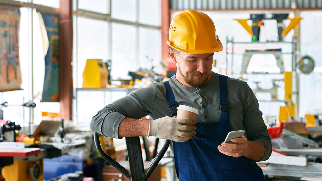 online unterweisen mit Smartphone