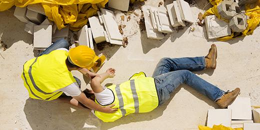 Online unterweisen: Arbeitsunfall